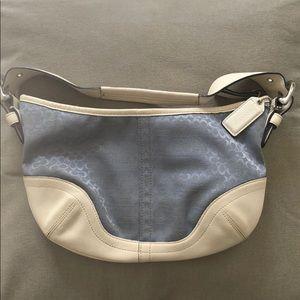 Authentic Vintage Signature Coach Handbag